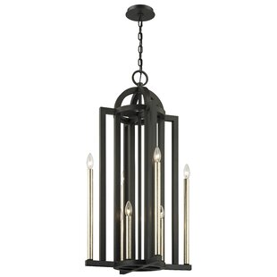 Gracie Oaks Hatton 8-Light Candle Style C..