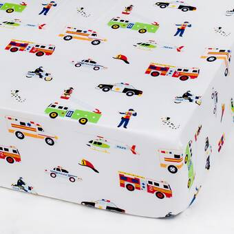 Zoomie Kids Carreon Printed Fitted Crib Sheets Wayfair