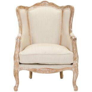 One Allium Way Vivien Wingback Chair