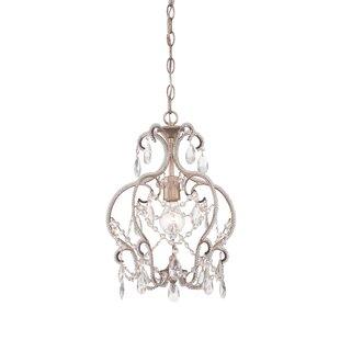 Hampton bay chandelier wayfair kyra 1 light mini chandelier aloadofball Choice Image