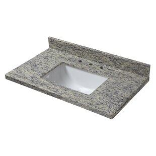 Granite 31 Single Bathroom Vanity Top By Halstead International