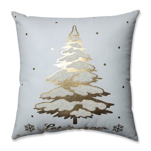 Glamour Single Tree 100% Cotton Throw Pillow
