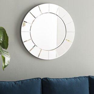 Sun Shaped Wall Mirror