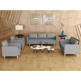 Brenisha 4 Piece Standard Living Room Set by Latitude Run®