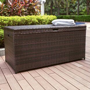 Mercury Row Belton Wicker/Rattan Deck Box