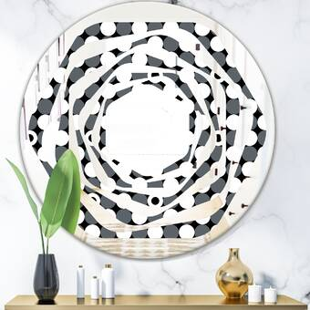 Orren Ellis Julewitz Perla Modern And Contemporary Beveled Lighted Bathroom Vanity Mirror