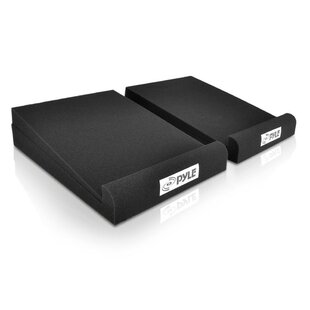 Sound Dampening Universal Speaker Riser by Pyle