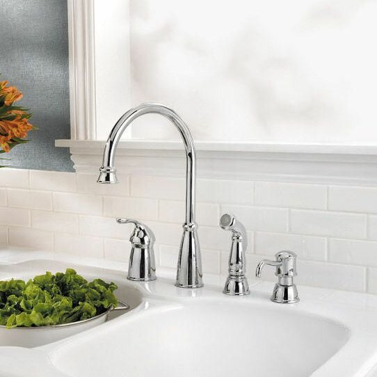 Pfister Avalon Single Handle Kitchen Faucet With Side Spray