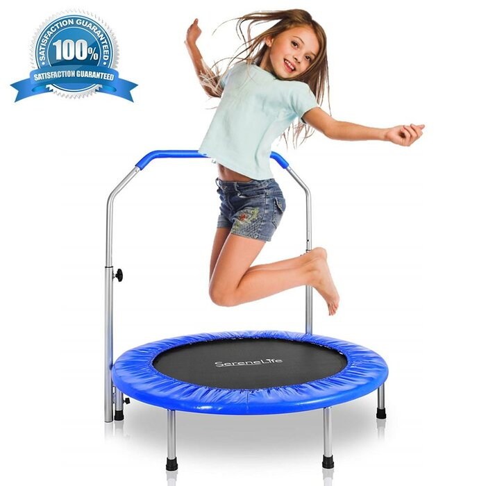 36in. Foldable Round Trampoline