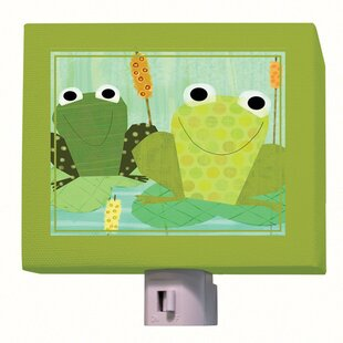 Oopsy Daisy Friendly Frogs Night Light