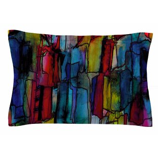 Ebi Emporium 'Facets of the Self 4' Mixed Media Sham