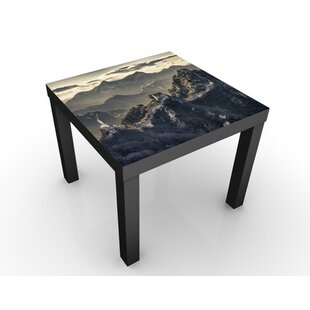 The Great Chinese Wall Side Table By World Menagerie