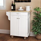 Savorey Kitchen Cart by August Grove®