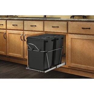 Kitchen Trash Bin Cabinet Wayfair