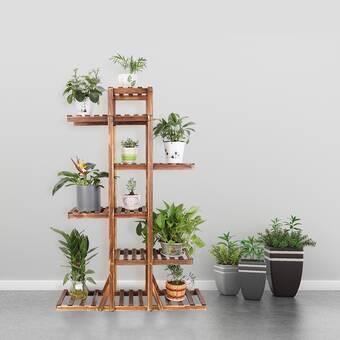 Freeport Park Altman Free Form Multi Tiered Plant Stand Wayfair
