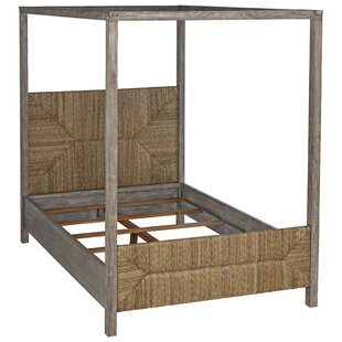 Lancaster Queen Canopy Bed by Noir