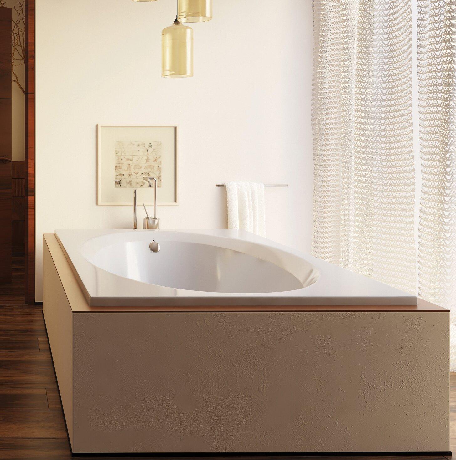 Americh Bel Air Luxury Series 60 X 42 Drop In Whirlpool Bathtub Wayfair