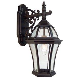 Plantation 1-Light Outdoor Wall lantern