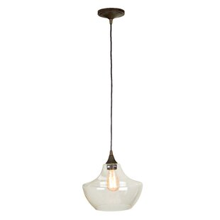 Breakwater Bay McClellandville 1-Light Schoolhouse Pendant