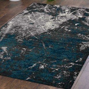 Read Reviews Mcmullan Green/Silver/Black Area Rug By Latitude Run