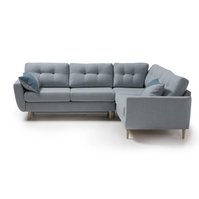 Adaline Sleeper Corner Sofa Bed