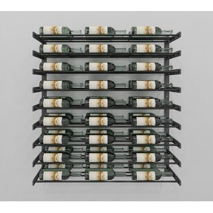 VintageView Evolution Series 54 Bottle Wall Mounted Wine Rack