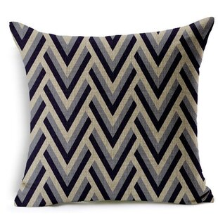 Epley Square Decorative Throw Pillows Cushion Covers Cases (Set of 2)