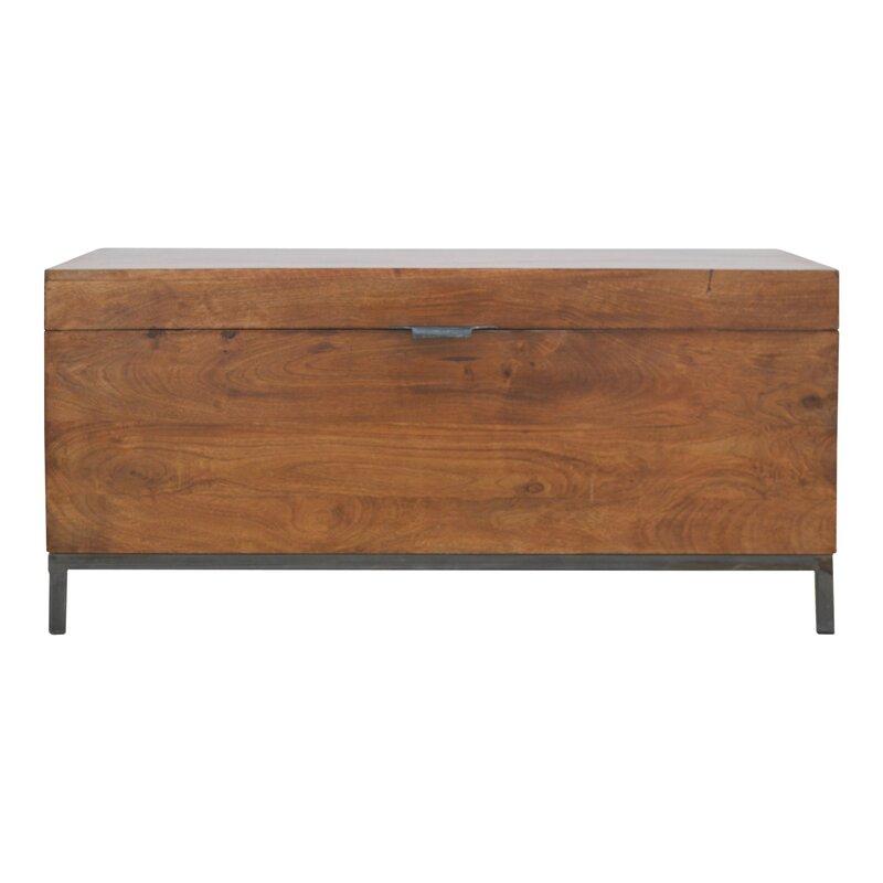 Artisan Furniture Metal Base Storage Bench