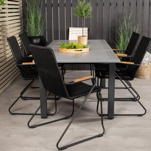 Jayesh 6 Seater Dining Set By Sol 72 Outdoor