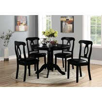 Black Kitchen & Dining Room Sets You'll Love in 2021   Wayfair