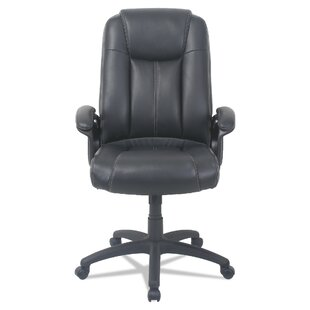 Otwell High-Back Genuine Leather Task Chair