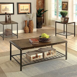 Whorton 3 Piece Coffee Table Set Loon Peak Savings