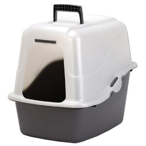 18.9″ x 15.1″ x 17″ Large Hooded Litter Pan