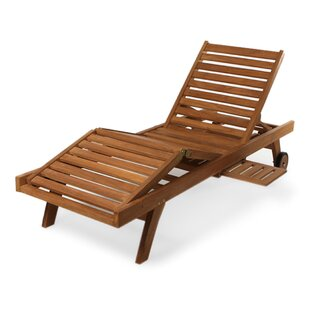 Humphrey Teak Chaise Lounge