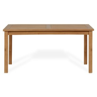 Ramsel Teak Dining Table By Bay Isle Home