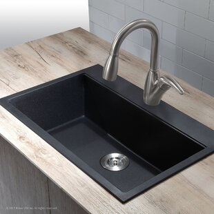 31 L x 20.08 W Undermount/Topmount Kitchen Sink By Kraus