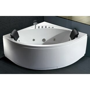 2 Person Corner Whirlpool Tub | Wayfair