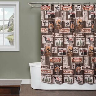Forrestal Great Fabric Shower Curtain ByMillwood Pines