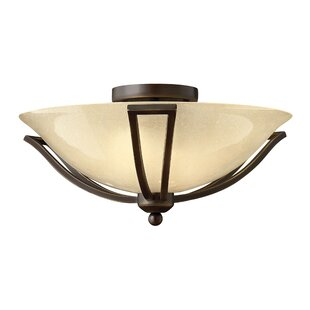 Bolla 2-Light Semi Flush M..