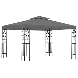 4m X 3m Steel Party Tent By Freeport Park