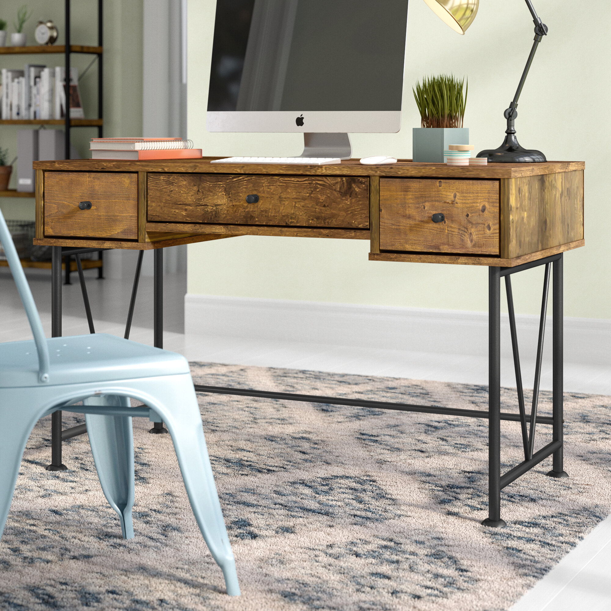 Modern Farmhouse Desks You Ll Love In 2020 Wayfair