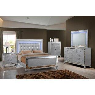 Regents Sleigh 4 Piece Bedroom Set