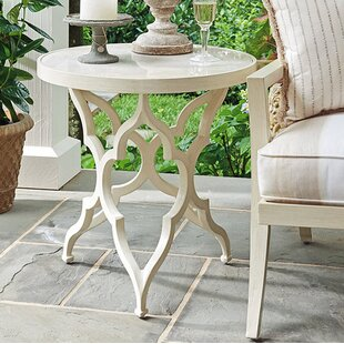 Misty Garden Aluminum Side Table