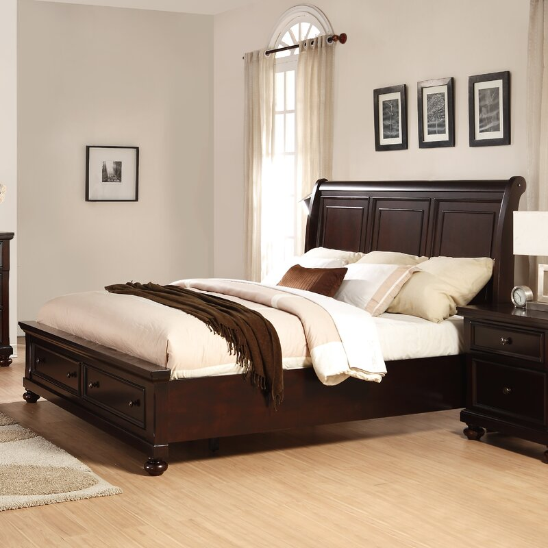 Roundhill Furniture Brishland King Platform 6 Piece Bedroom Set ...