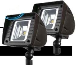 18-Watt LED Outdoor Security Flood Light (Pack of 2) (Set of 2) by Lumight