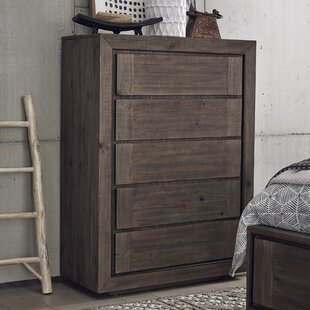 Aahil 5 Drawer Chest by Foundry Select