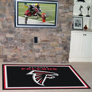 NFL - Atlanta Falcons 5x8 Rug ByFANMATS
