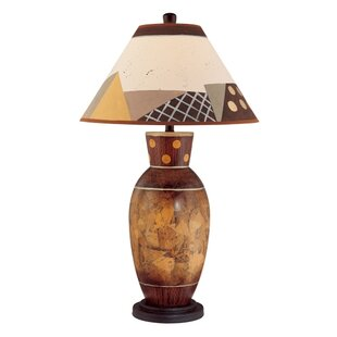 Painted Ceramic 33.75 Table Lamp
