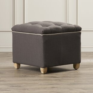 Compare Lyall Storage Ottoman By Alcott Hill