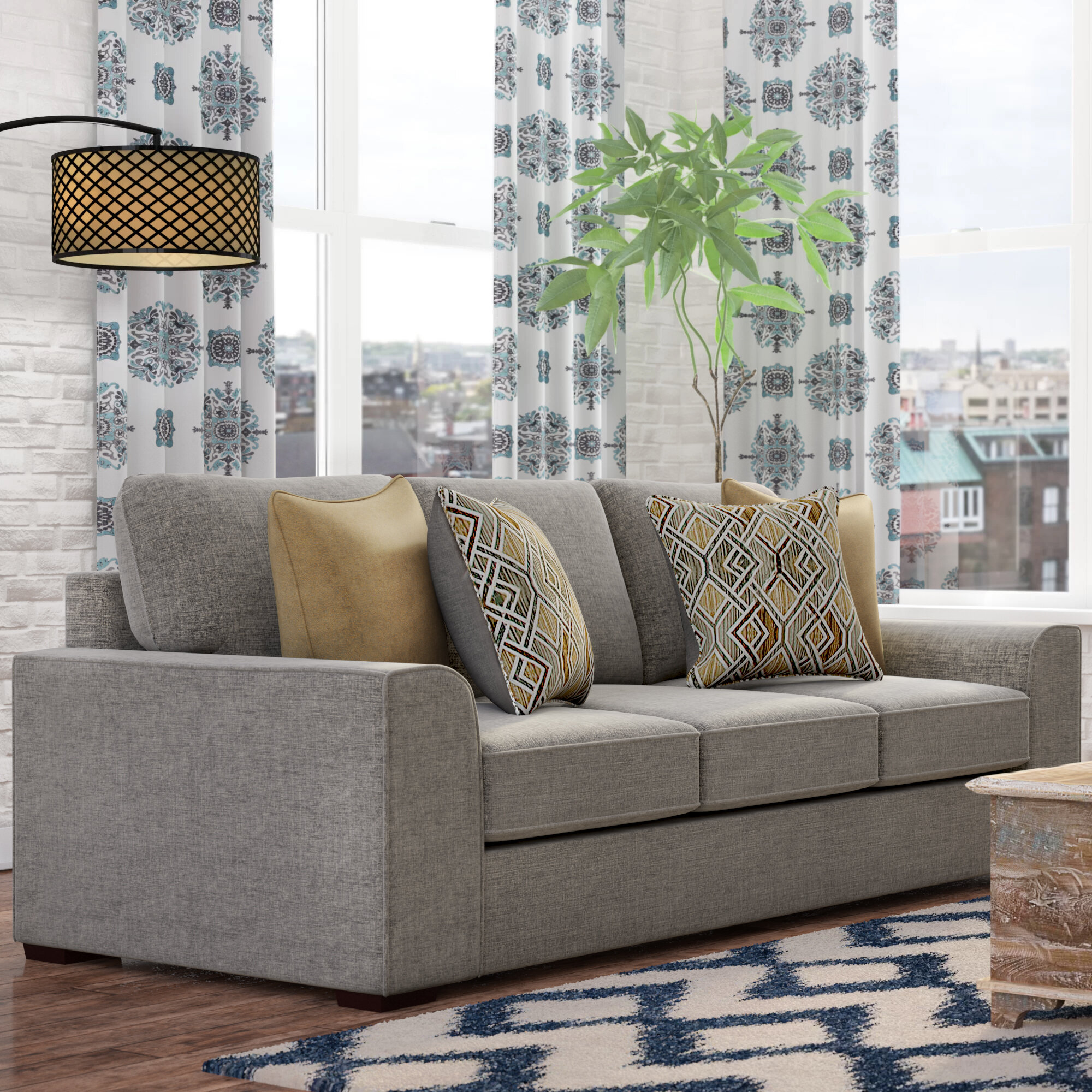 Zipcode Design Ackers Brook Sofa Reviews Wayfair
